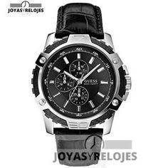 Maravilloso ⬆️😍✅ GuessFiber w14558g1 😍⬆️✅ , Modelo perteneciente a la Colección de RELOJES GUESS ➡️ PRECIO  € En exclusiva en 😍 https://www.joyasyrelojesonline.es/producto/guess-reloj-de-pulsera-hombre-fiber-cronografo-cuarzo-piel-w14558g1/ 😍 ¡¡Corre que vuelan!! #Relojes #RelojesFestina #Festina