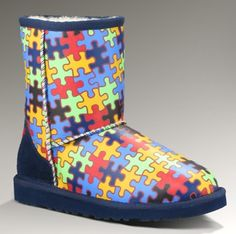 Autism Awareness Uggs My Favorite Things Pinterest
