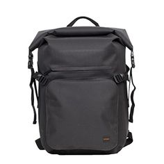 """KNOMO Thames Hamilton 15'6"""" Roll Top Backpack-Black -- Awesome products selected by Anna Churchill"""