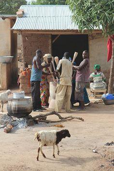 Teamwork . Ghana