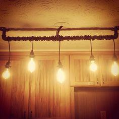 lighting on pinterest edison bulbs track lighting and edison lamp. Black Bedroom Furniture Sets. Home Design Ideas