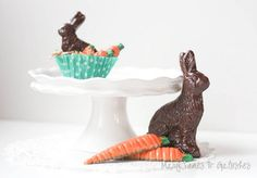 DIY chocolate easter bunny