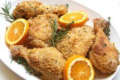 Orange Glazed Baked Chicken