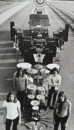 Pink Floyd, on the road Plus