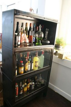 1000 Ideas About Barrister Bookcase On Pinterest