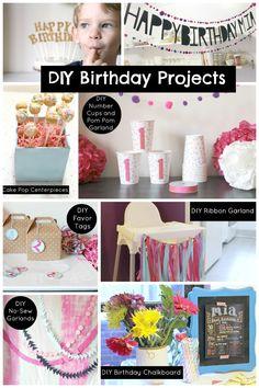8 Easy DIY Birthday Projects