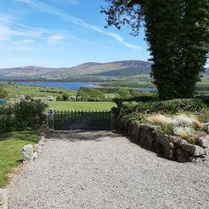 Take a superb farm walk while staying at Abhainn Ri Farm. Lake View, Entrance, Walking, Farmhouse, Mountains, Travel, Outdoor, Outdoors, Entryway
