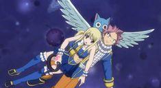 Happy I thought u said you can't carry 2 people 😤😤😤😑😑 Anime Fairy Tail, Fairy Tail Comics, Fairy Tail Natsu And Lucy, Couples Fairy Tail, Fairy Tail Family, Fairy Tail Episodes, Fairy Tail Characters, Kimi Ni Todoke, Shugo Chara