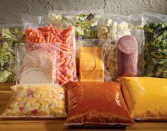 Alimentos que podem ser congelados -- Enfim Casada