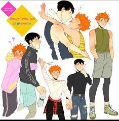 Haikyuu Kageyama, Manga Haikyuu, Haikyuu Funny, Haikyuu Fanart, Yuri On Ice, Yamaguchi, South Park, Gravity Falls, Kagehina Cute