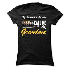 My Favorite People Call Me Grandma with 4 girls and 2 b - #tshirt bag #red hoodie. MORE INFO => https://www.sunfrog.com/Names/My-Favorite-People-Call-Me-Grandma-with-4-girls-and-2-boys-Ladies.html?68278