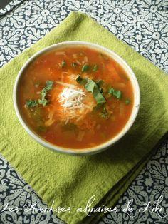 Soupe aux lentilles et légumes à l'italienne