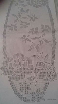 This Pin was discovered by Фил Annie's Crochet, Crochet Bikini Pattern, Crochet Carpet, Crochet Dollies, Fillet Crochet, Crochet Stitches, Crochet Square Patterns, Crochet Designs, Crochet Numbers