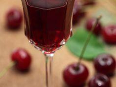 vin rosé, sucre, cerise, eau