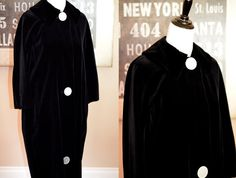 Vintage 1940s 1950s Velvet Opera Coat  amazing by JustheGoodStuff, $38.00