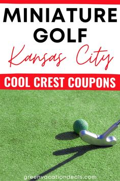 Save money with a promo code, coupon for a discounted ticket for miniature golf Family Days Out, Friends Family, Vacation Deals, Vacation Spots, Independence Missouri, Soft Play Area, Miniature Golf, Shawnee