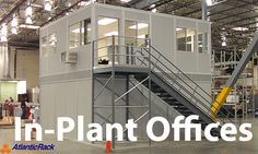 Industrial Mezzanine | Atlantic Rack