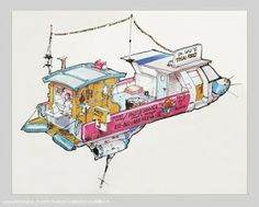 THE FIFTH ELEMENT Concept Art by Moebius « Film Sketchr