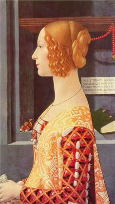 Portrait of Giovanna Tornabuoni, 1489-1490  Domenico Ghirlandaio