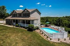 If looking at beautiful homes on HGTV is your thing, check out this amazing new listing in Williamstown! Oval Above Ground Pools, In Ground Pools, Pool Ideas, Yard Ideas, Outside Pool, Party Gifts, Oasis, Girl Birthday, Tennessee