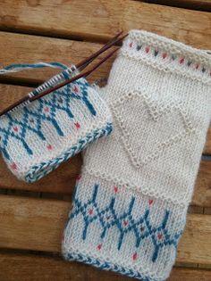 Vi 2 i sommar: Newby Mittens Pattern, Knit Mittens, Mitten Gloves, Wrist Warmers, Twine, Fingerless Gloves, Knit Crochet, Winter Hats, Weaving
