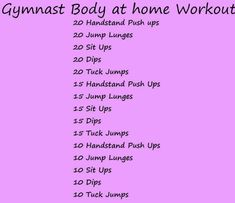 Gymnastics at home body workout! Gymnastics At Home, Gymnastics Skills, Gymnastics Quotes, Gymnastics Stuff, How To Do Gymnastics, Gymnastics Equipment, Gymnastics Coaching, Olympic Gymnastics, Olympic Games