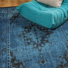 Revive Rugs feature faded glory with distressed look classical medallions, on trend patchworks and abstract colours in this great value collection