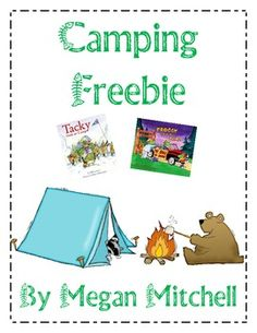 Enjoy these fun activities for Froggy Goes to Camp and Tacky Goes to Camp!...