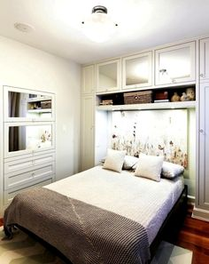 10 Modern Small Master Bedroom Storage Ideas For Your Room