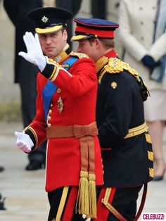 Princes William & Harry #RW2011