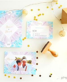 faire-part-mariage-triangles-aquarelle-mariage-hiver-happy-chantilly