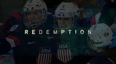 Redemption-poster Team USA Women's Hockey Women's Hockey, Team Usa, Good Day, Football Helmets, Christianity, I Am Awesome, Blog, Poster, Buen Dia
