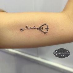 """9,188 Likes, 2,000 Comments - Tatuagens • Tattoos  1,6m (@tatuagensfemininas) on Instagram: """"""""Amigas""""• Tattoo Artist:  Marrytattoo . ℐnspiração 〰 ℐnspiration . . #tattoo #tattoos #tatuagem…"""""""