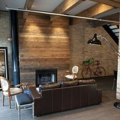 Wood Fireplace Surround Design Ideas, Pictures, Remodel, and Decor