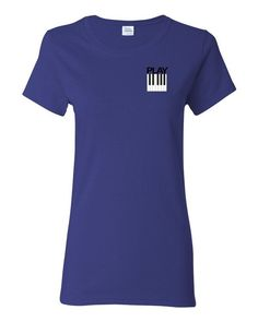 Play Piano Womens short sleeve t-shirt