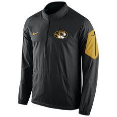 Image for Nike Men's University of Missouri Lockdown 1/2 Zip Jacket from Academy