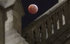 Lunar Eclipse at St Patrick's Cathedral December 2010