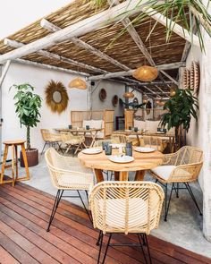 This is a great idea for an outdoor area in the garden! #Timber #Pergola #Decking Timber Pergola, Wooden Pergola, Timber Structure, Group Of Companies, Whitewash, Decking, Nook, Wicker, Table Settings
