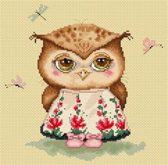 Owlet In Love by Inga Paltser