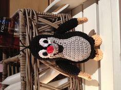 Crochet little mole www.haekelherz.de