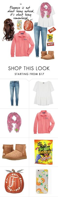 Flocktober by mirandamf on Polyvore featuring Current/Elliott, Rachel Comey, Vera Bradley, Vineyard Vines, UGG and Kate Spade