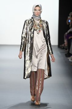 Last night I witnessed history. In my front row seat, the lights dimmed and I wondered to myself whether Indonesian designer Anniesa Hasibuan would actually show her designs at New York Fashion Wee...