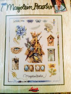 Marjolein Bastin Lanarte Cross Stitch Kit by ncknittinchick, $49.95