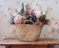 Wicker Baskets, Sweet Home, Green, Flowers, Plants, Bedrooms, Home Decor, Ideas, Hampers