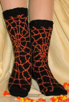 knit your own halloween socks.  i should start now....for next Halloween  (slow knitter)