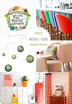 Gender Neutral Nursery Inspiration, http://ruffledblog.com/gender-neutral-nursery-inspiration #nursery #babyroom