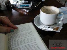 Café, livros... sempre!