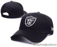 Oakland Raiders Baseball Caps Black 100% COTTON