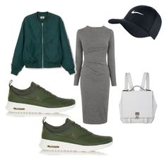 """""""Streetwear 2"""" by bronzebrookiepro on Polyvore featuring Whistles, NIKE, Proenza Schouler, women's clothing, women's fashion, women, female, woman, misses and juniors"""