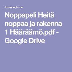 Noppapeli Heitä noppaa ja rakenna 1 Hääräämö.pdf - Google Drive
